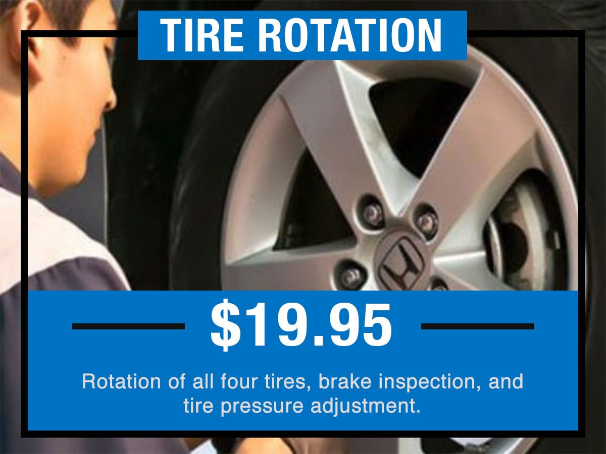 Honda Tire Rotation Special Coupon