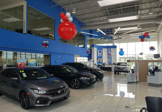 Tom Wood Honda Amenities