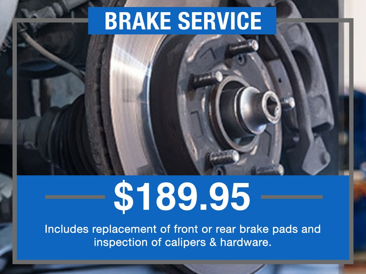 Brake Service Special Coupon Hiley Hyundai of Burleson