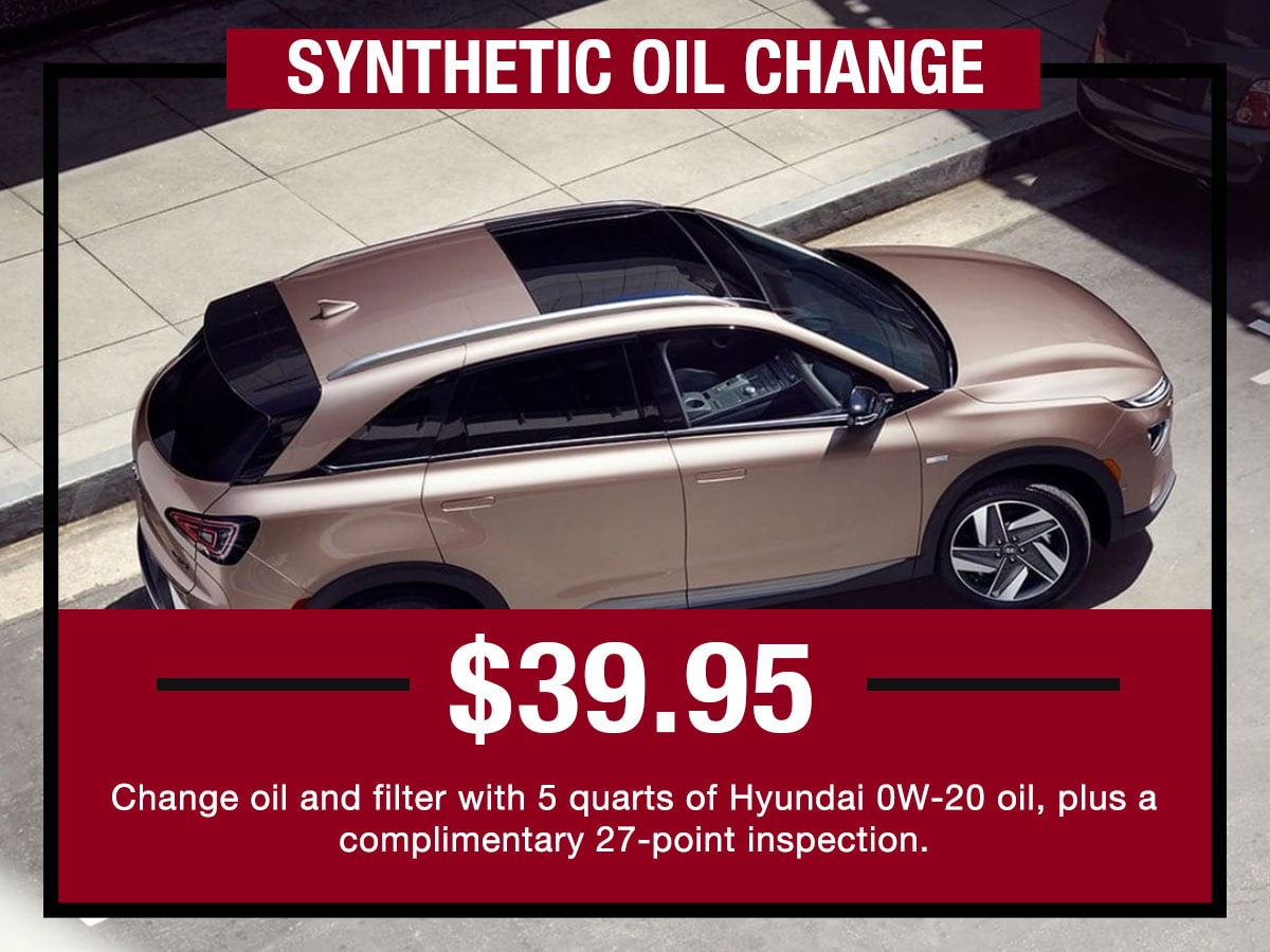 Full Synthetic Oil Change >> Full Synthetic Oil Change Service In Dearborn Mi Lafontaine Hyundai