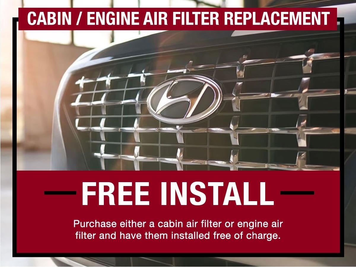 LaFontaine Hyundai Dearborn MI Cabin Air Filter Replacement Service Coupon