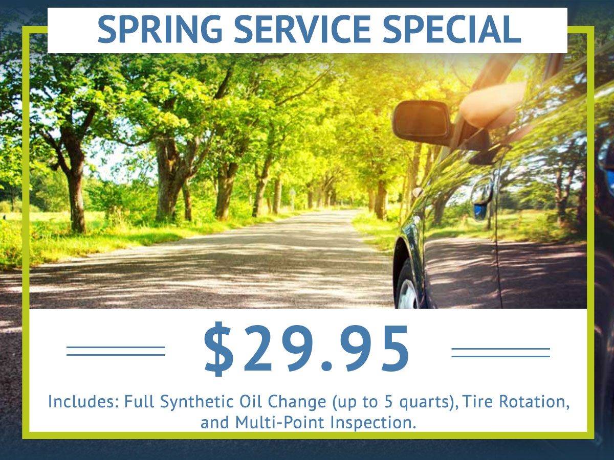 Auto Service Savings Coupon