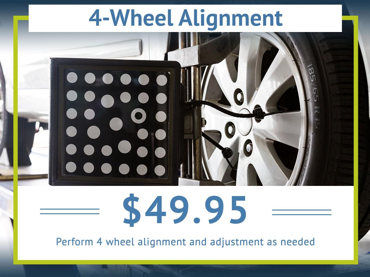 4-Wheel Alignment Coupon