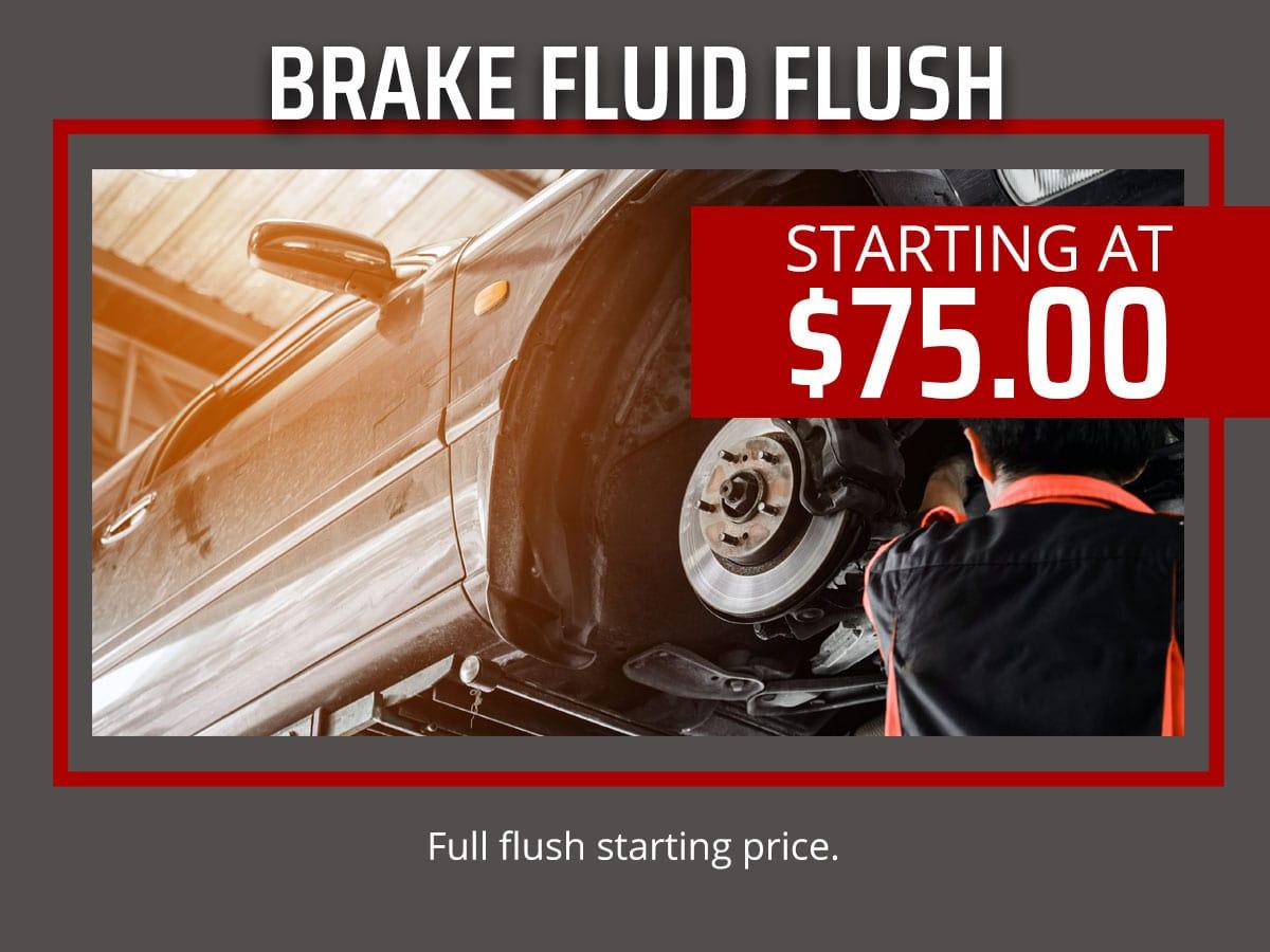Bradenton Florida Brake Fluid Exchange Service Coupon