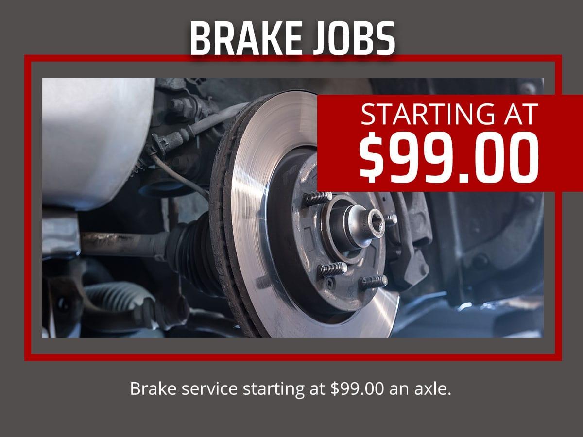 Brake Service Jobs Coupon Bradenton Florida