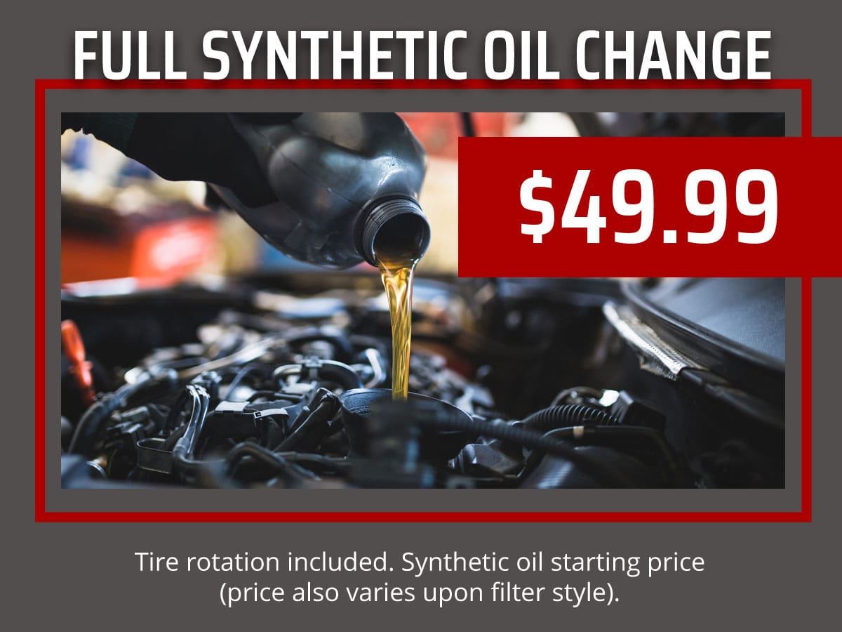 Full Synthetic Oil Change Price >> Full Synthetic Oil Change Srq Auto Llc