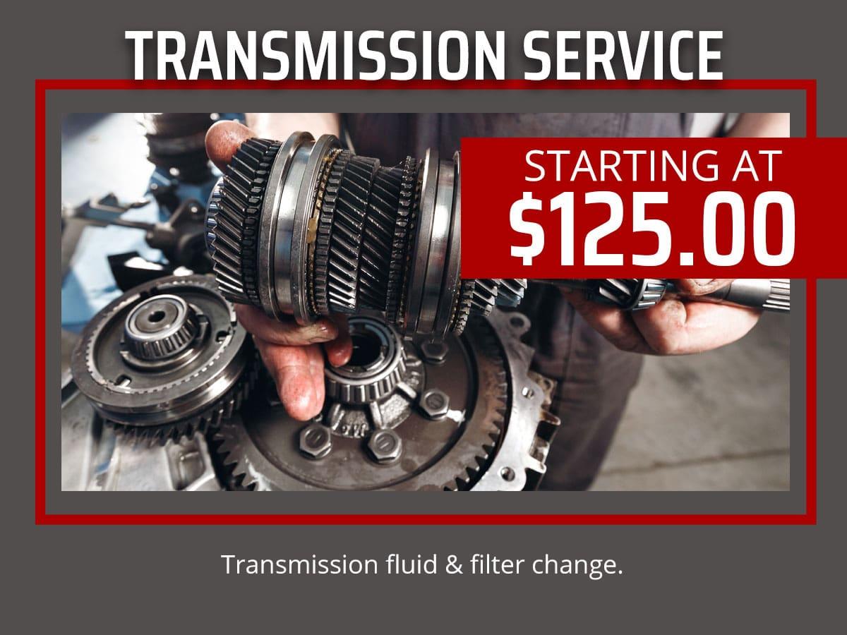 Transmission Service Coupon Bradenton, Florida