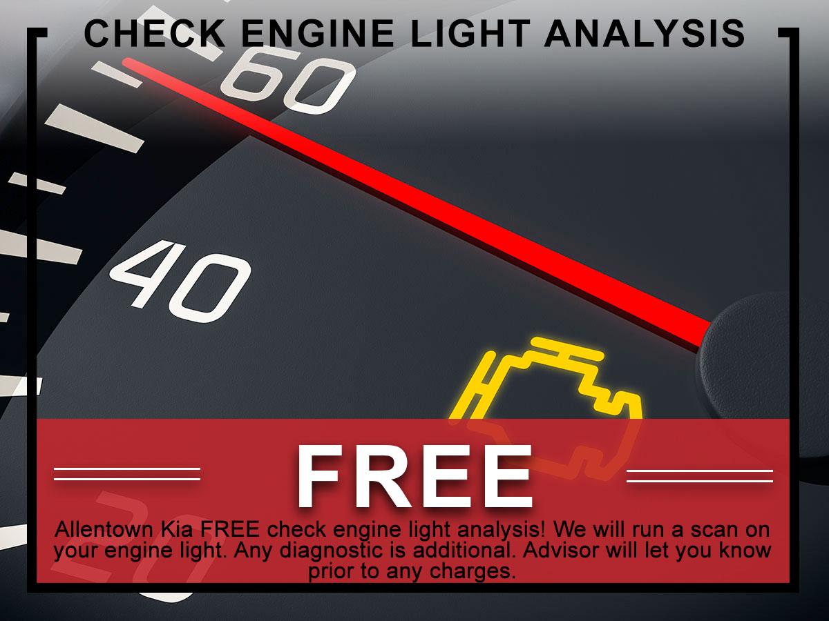 Kia Free Diagnostic Check Service Coupon | Allentown, PA
