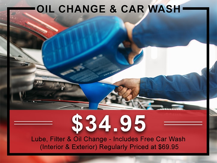 Kia Oil Change & Car Wash Service Coupon | Allentown, PA