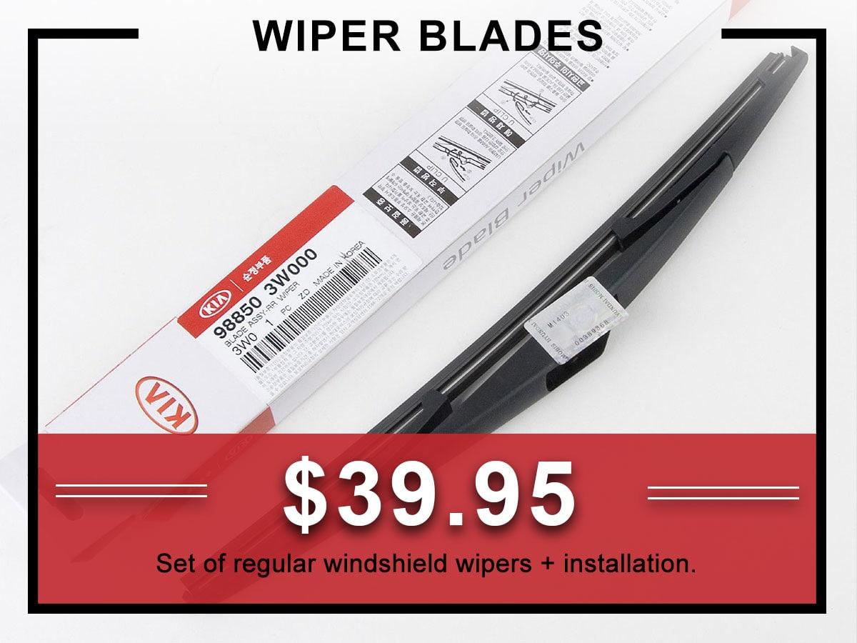 Kia Wiper Blades Service Coupon | Allentown, PA