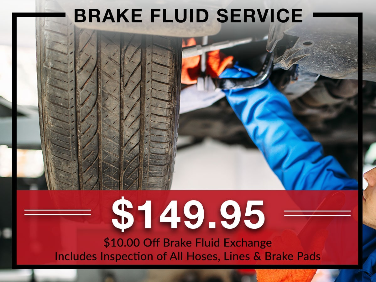 Brake fluid service special from Briggs Kia