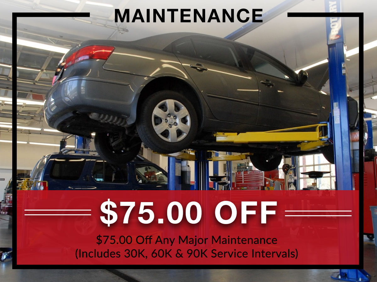 Auto Maintenance coupon from Briggs Kia