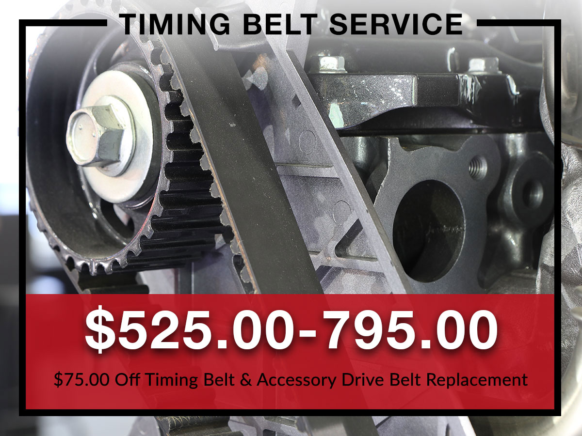 Timing belt special coupon from Briggs Kia
