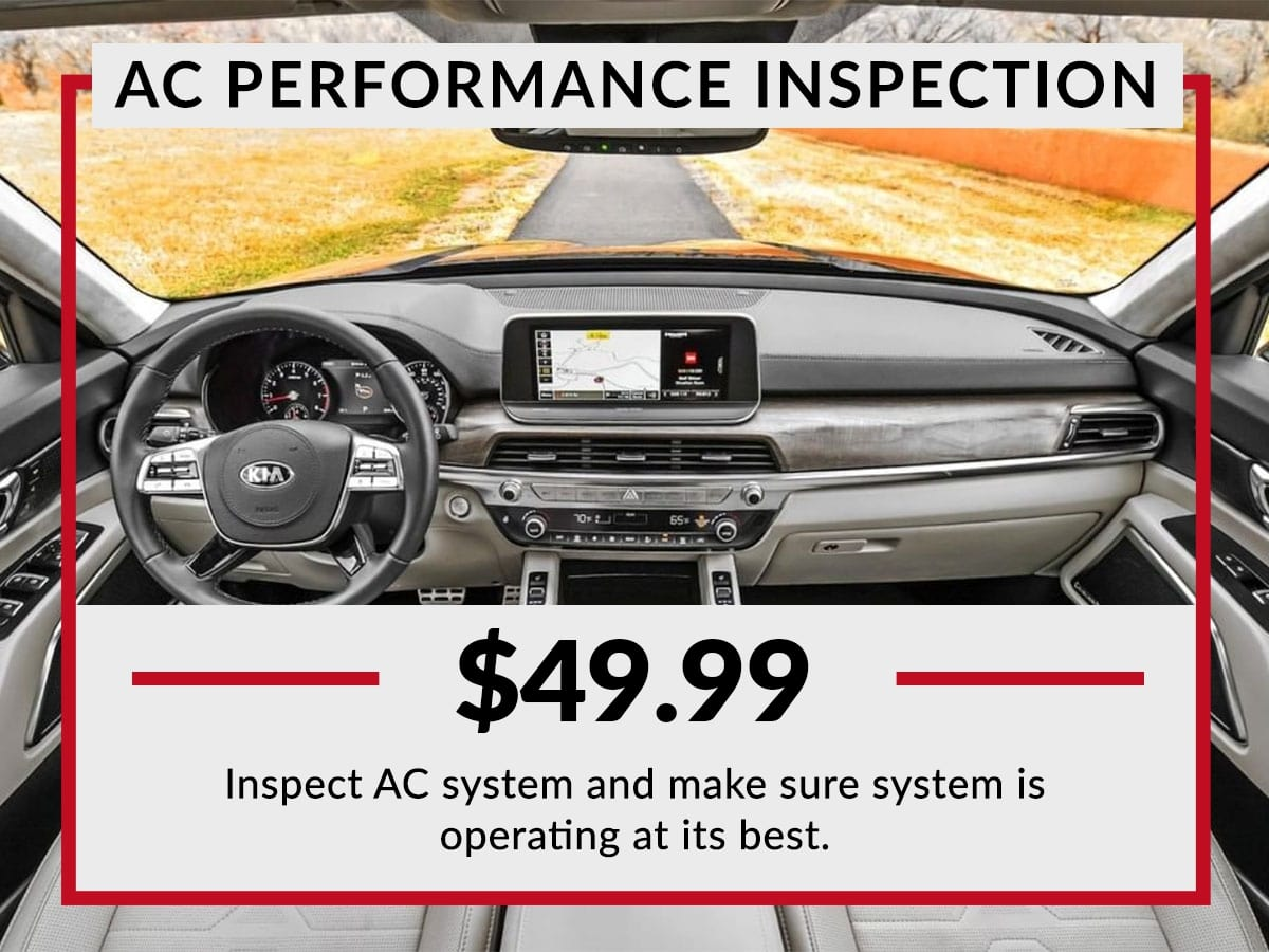 AC Performance Inspection Service Special