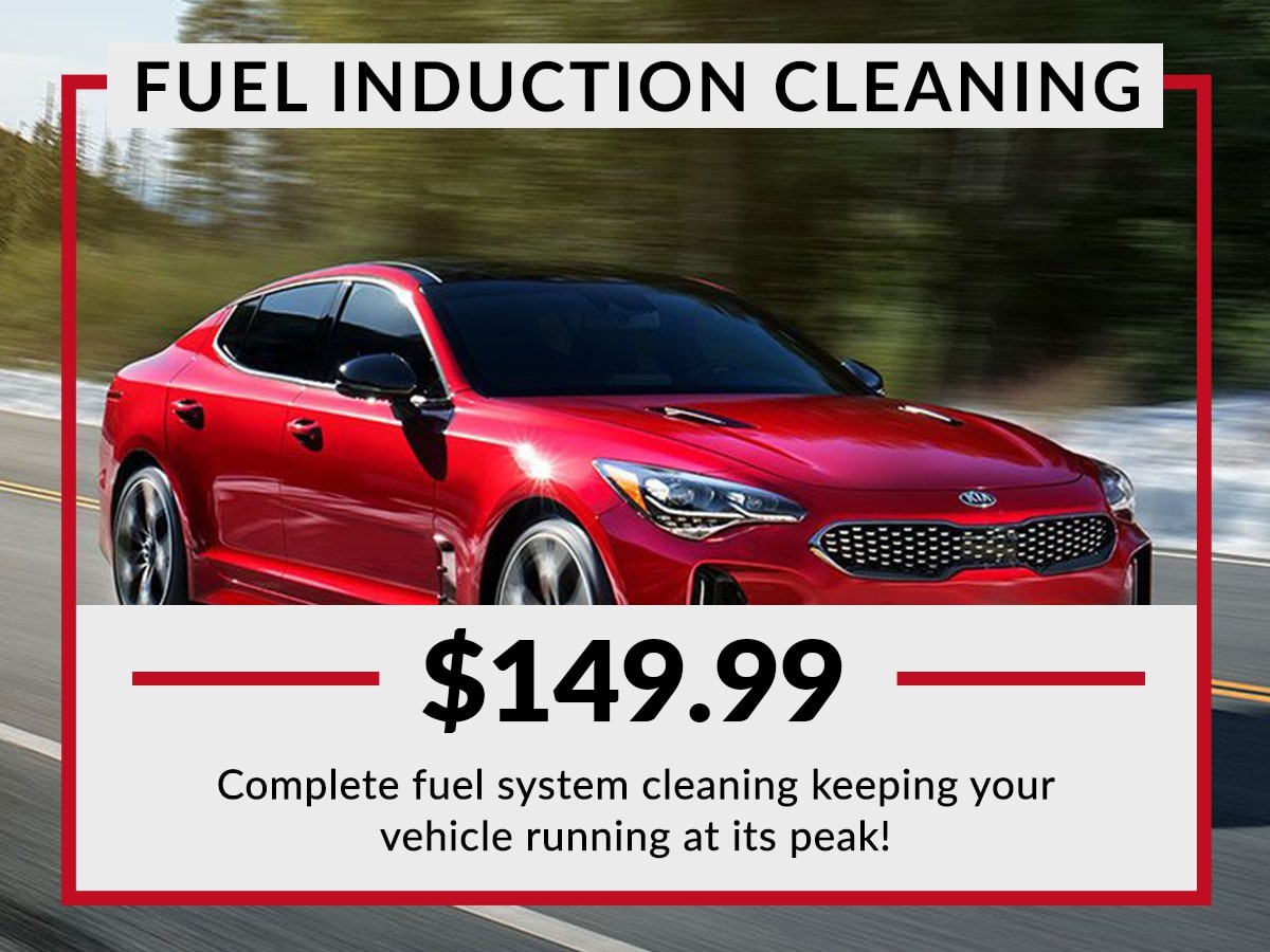 Fuel Induction Cleaning Service Special