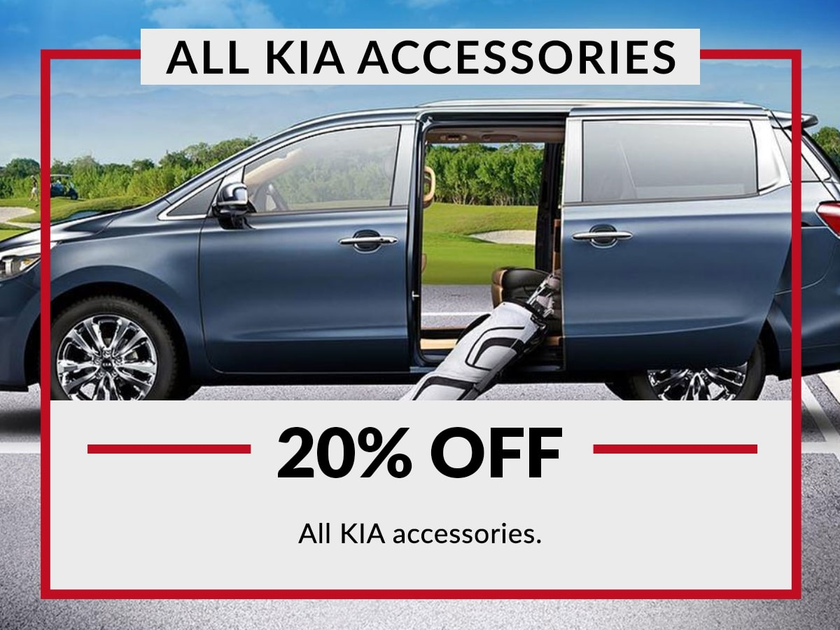 Genuine Kia Accessories special service