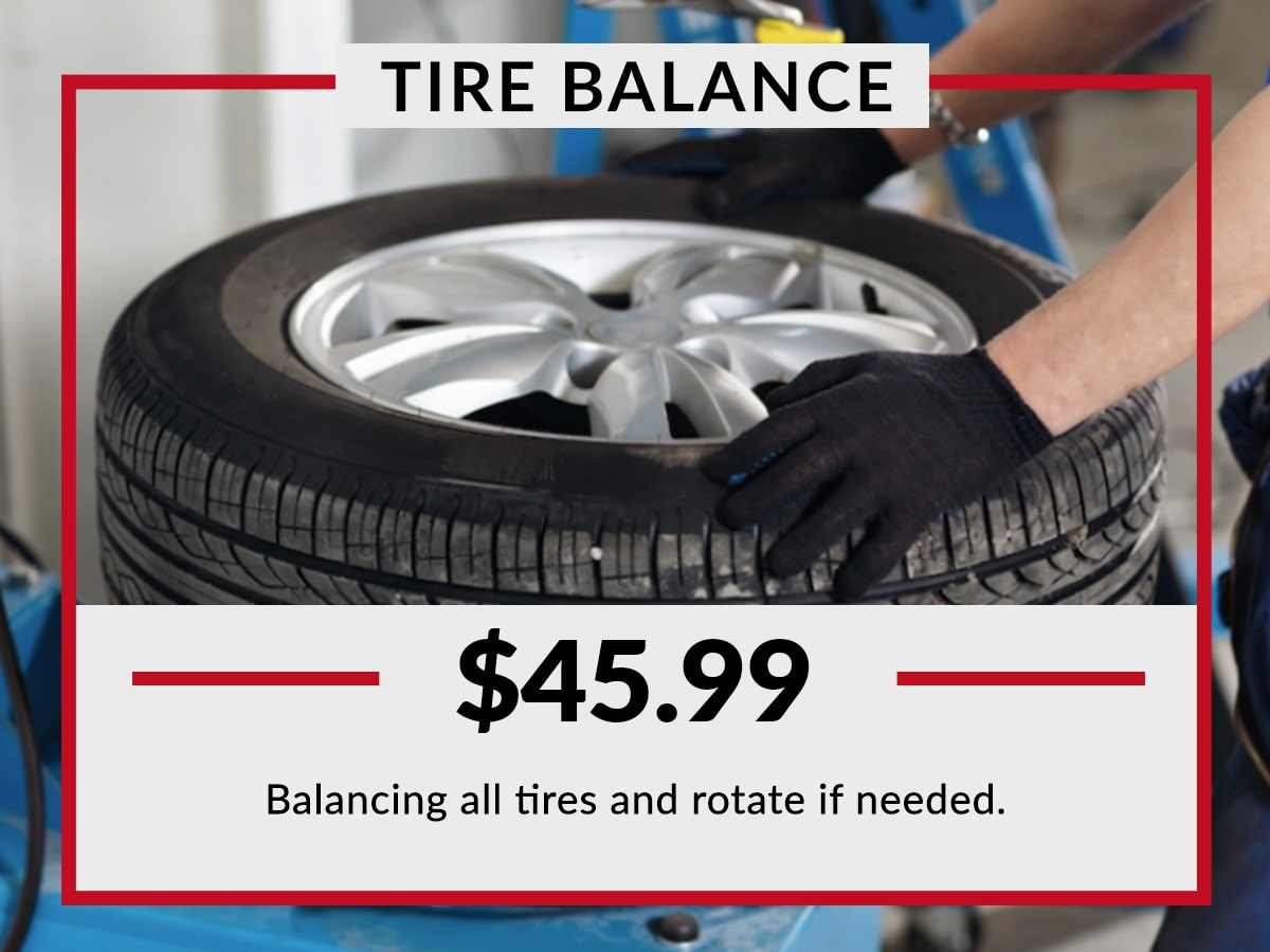 Tire Balance Service Special