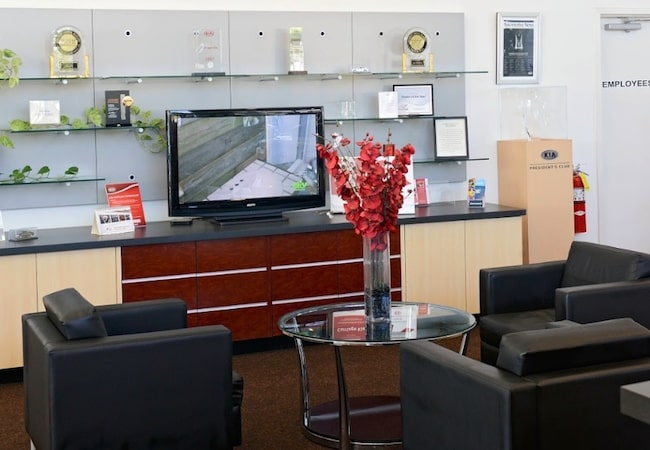 Service Amenities at Carriage Kia of Gainesville