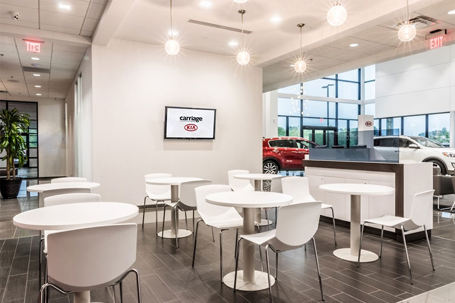 Service Amenities at Carriage Kia of Woodstock