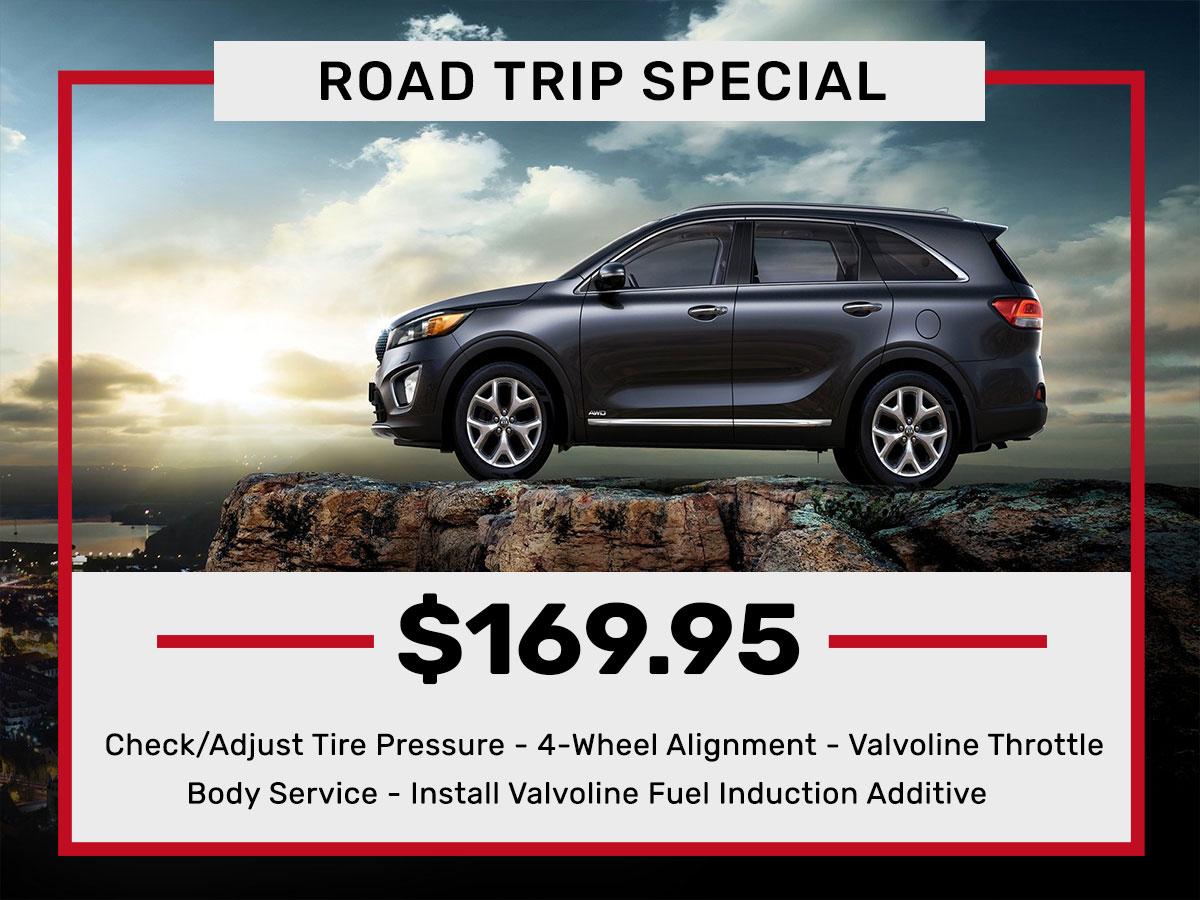 Road Trip Service Special