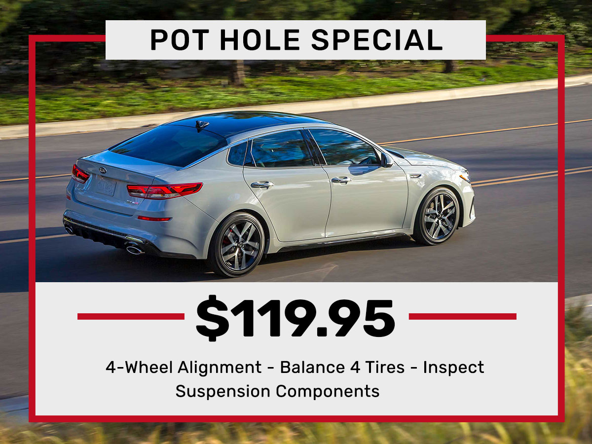 Pot Hole Service Special