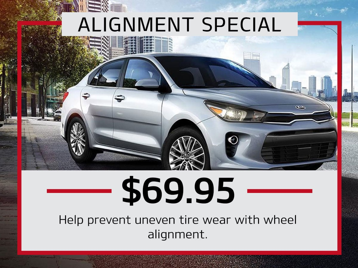 Julio Jones Kia Alignment Special Coupon