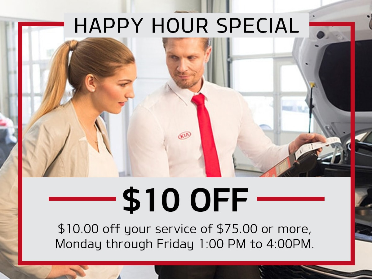 Julio Jones Kia Happy Hour Special Coupon