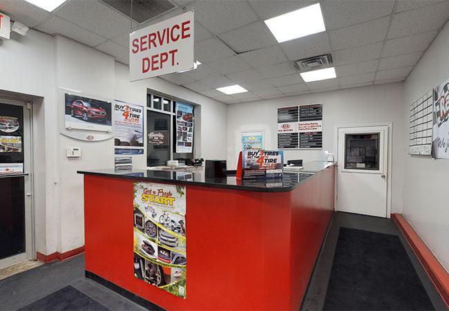 Raceway Kia Service Department