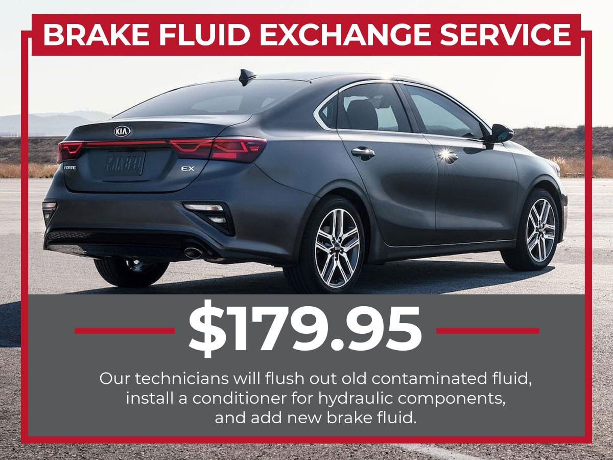 Brake Fluid Exchange Service