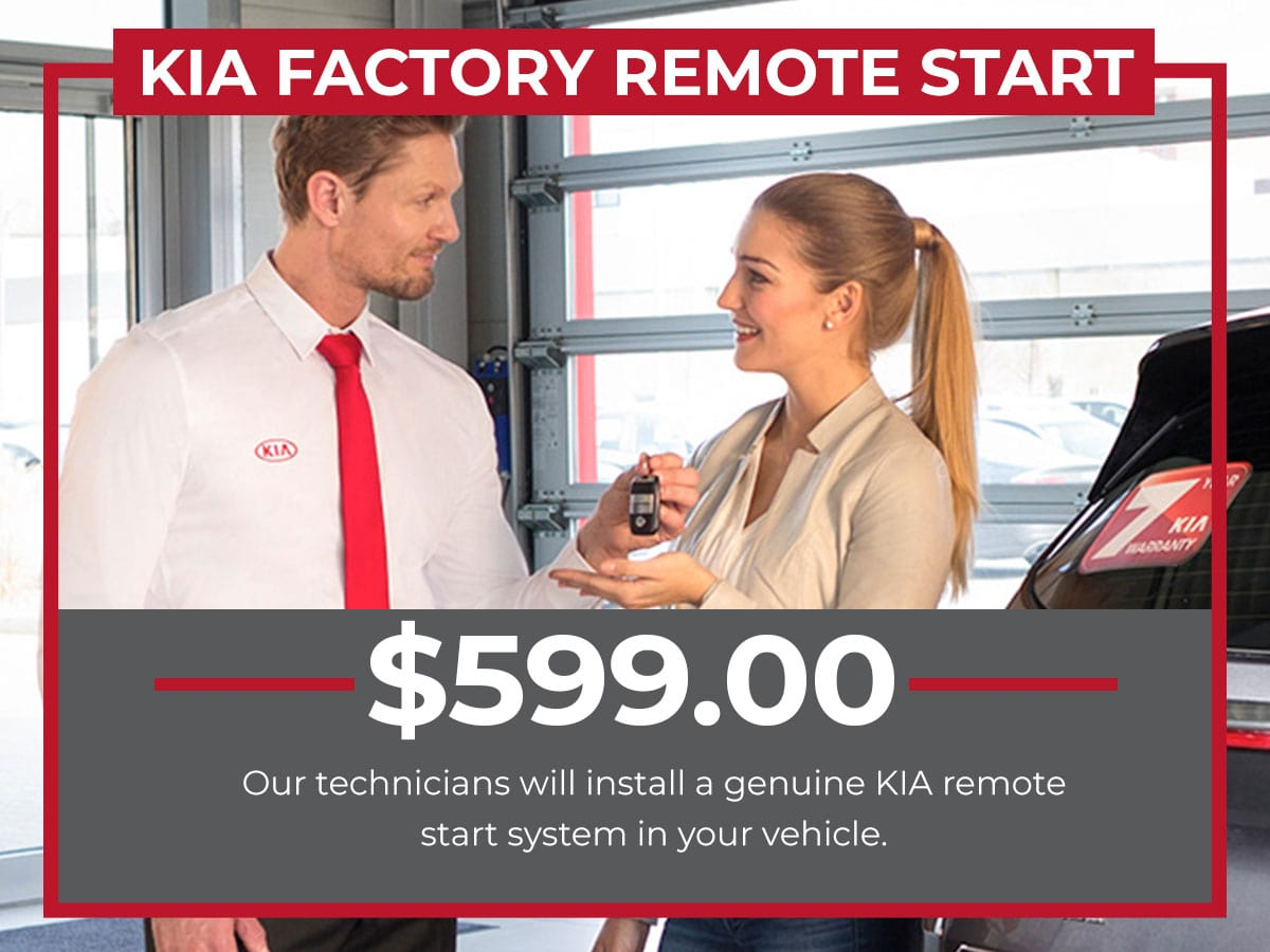 Kia Factory Remote Starter Installation