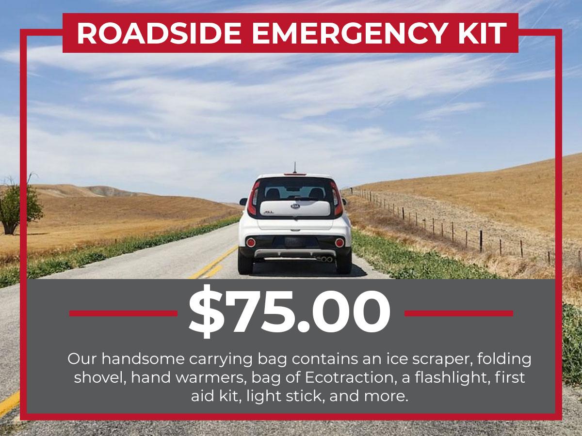 Raceway KIA Roadside emergency Kit Freehold, NJ