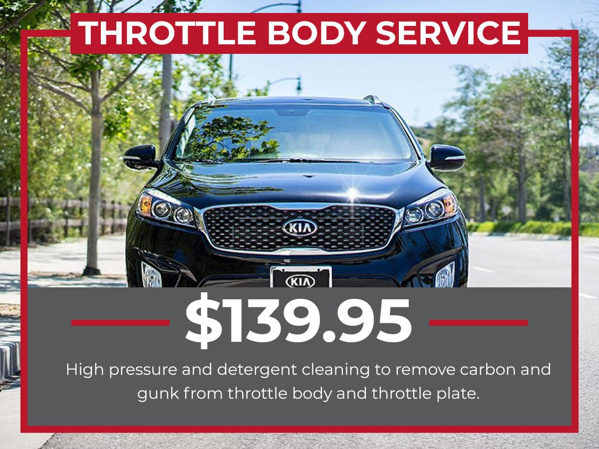 Kia Throttle Body Service Coupon Raceway Kia Freehold, NJ
