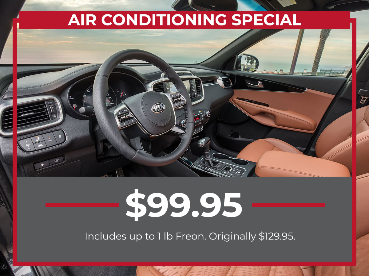Raceway Kia Air Conditioning Service Special Freehold, NJ