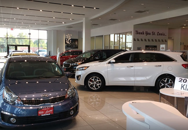 Suntrup Kia Showroom