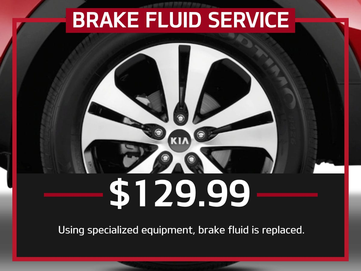 Suntrup Kia Brake Fluid Service Special Coupon St. Louis, MO