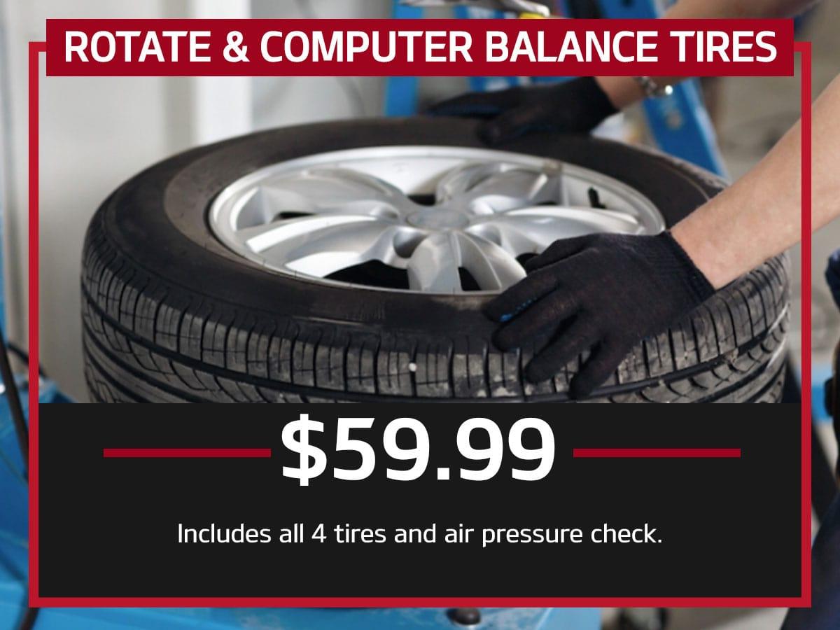 Rotate & Computer Balance Tires Special Coupon
