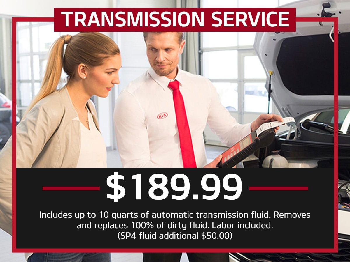 Kia Transmission Service Coupon Suntrup Kia