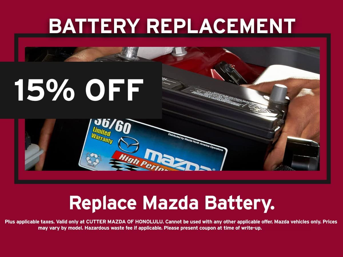 Battery Replacement Special Coupon