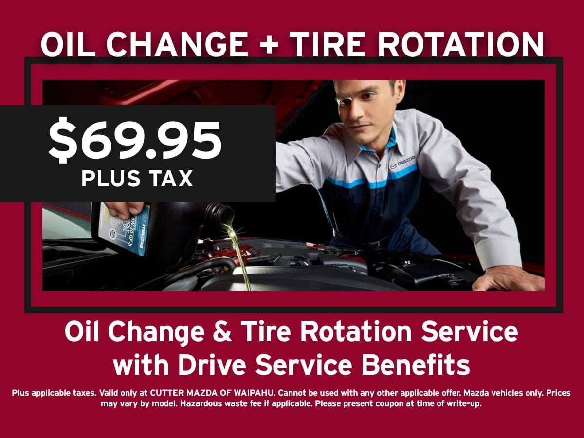 Oil Change & Tire Rotation Special Coupon