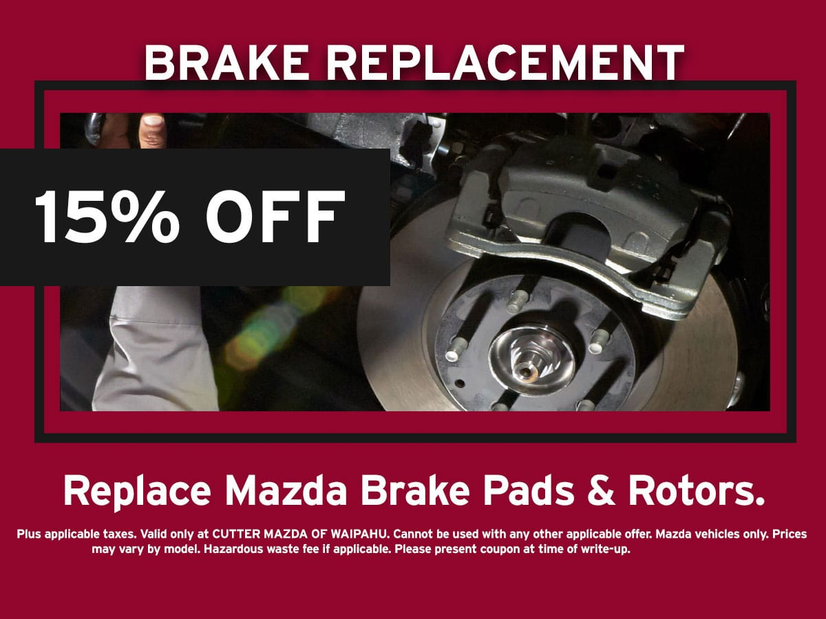 Brake Replacement Special Coupon
