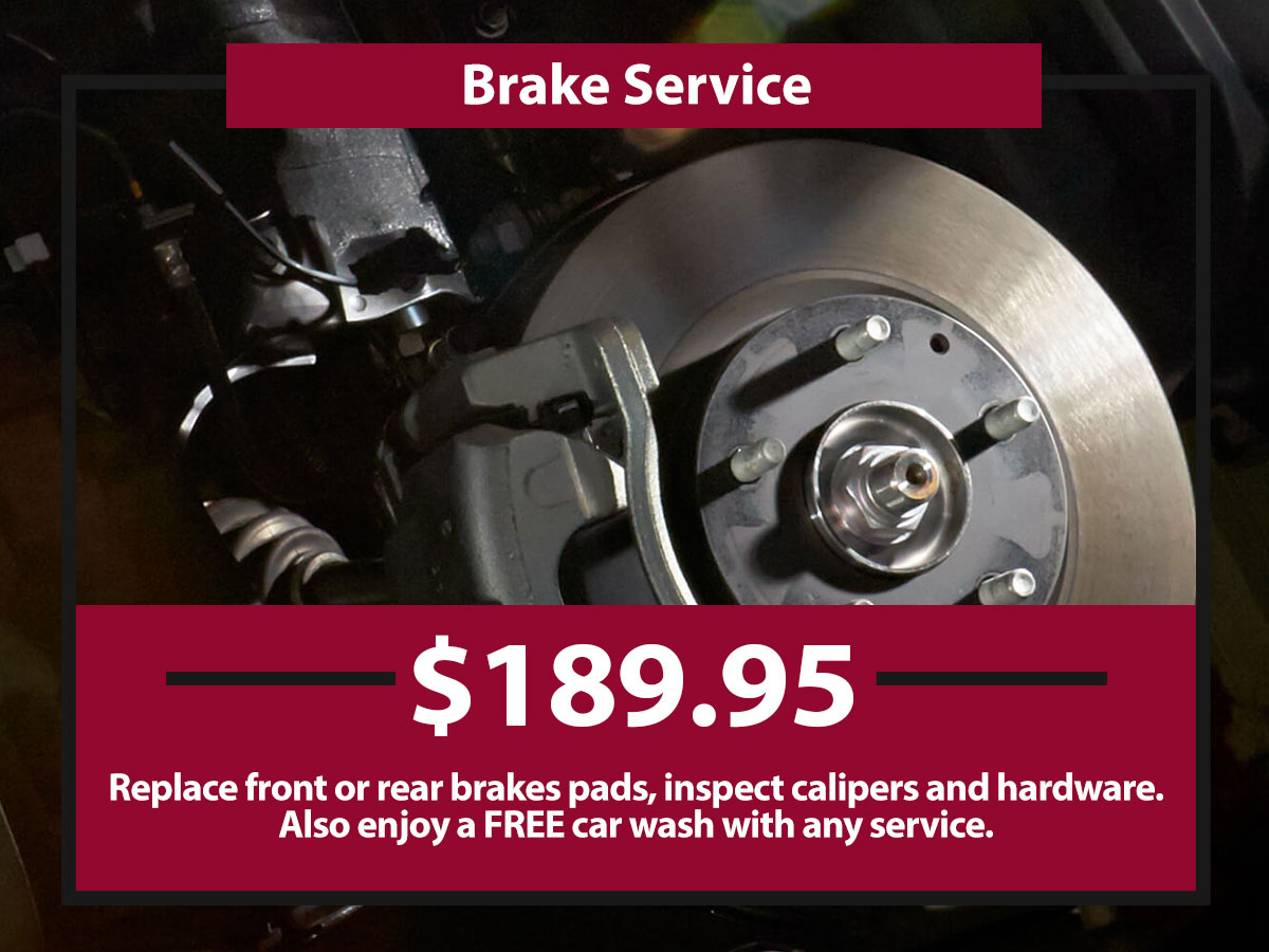 Brake Service Coupon from Hiley Mazda of Burleson