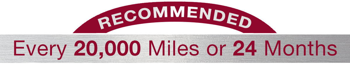 Hiley Mazda of Burleson Recommends Every 20,000 Miles or 24 Months