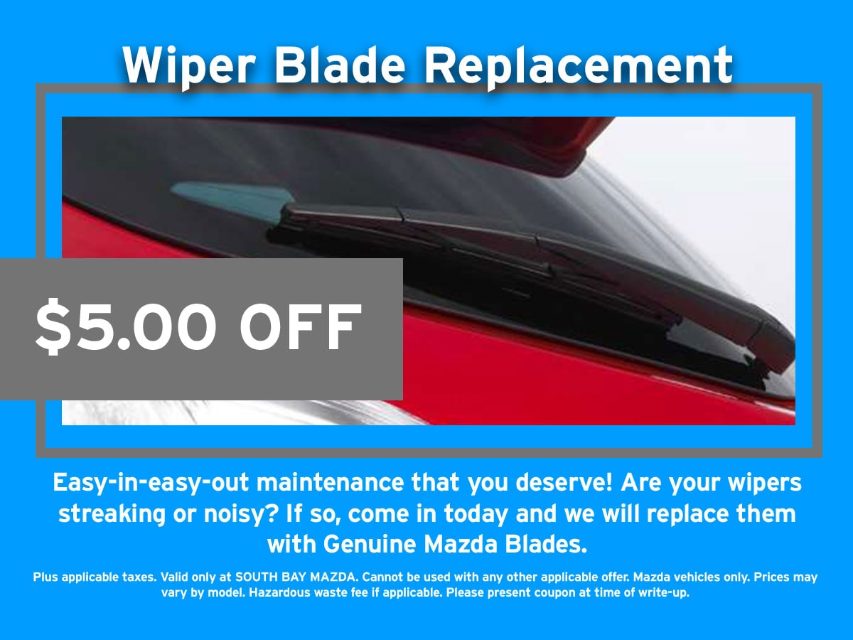 Mazda Windshield Wiper Blade Special