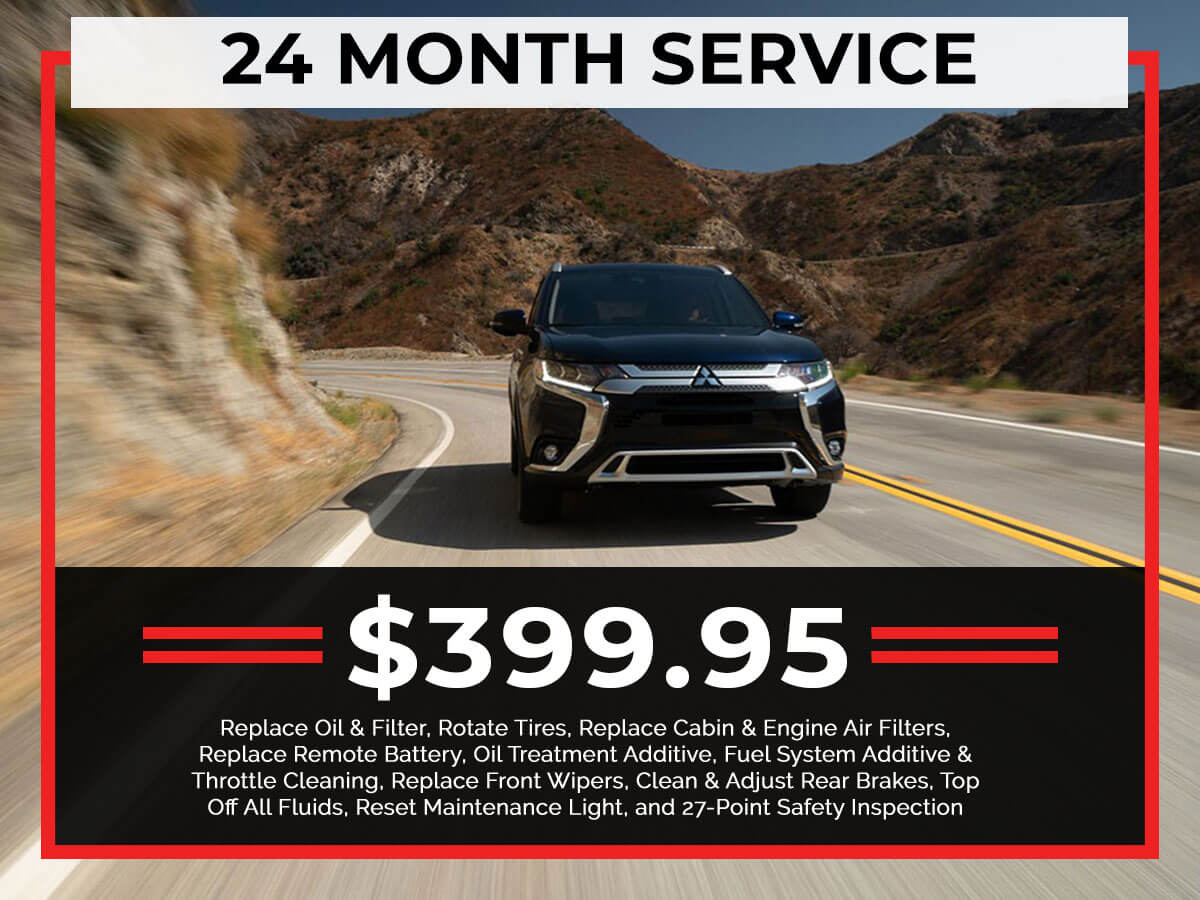 24 Month Service Coupon from Brooklyn Mitsubishi