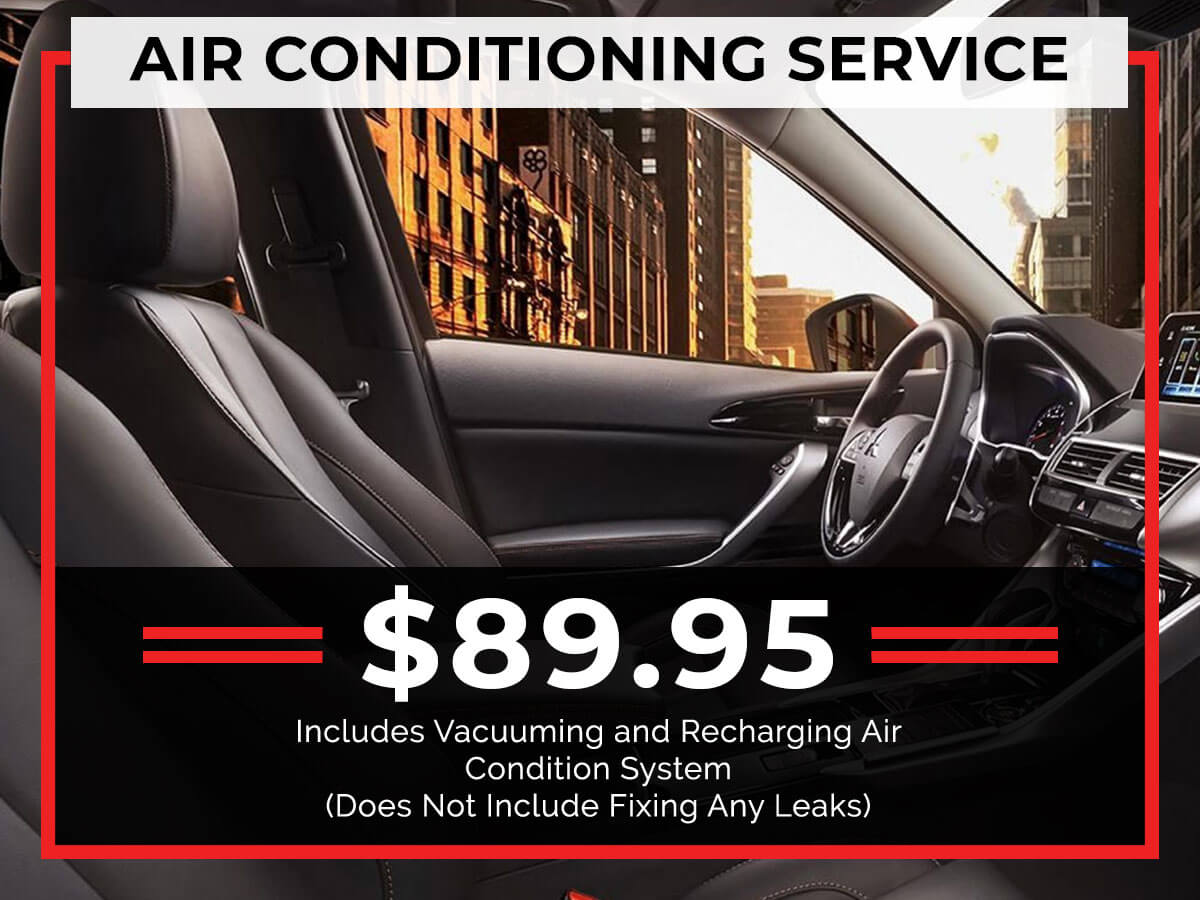 A/C Service Coupon from Brooklyn Mitsubishi