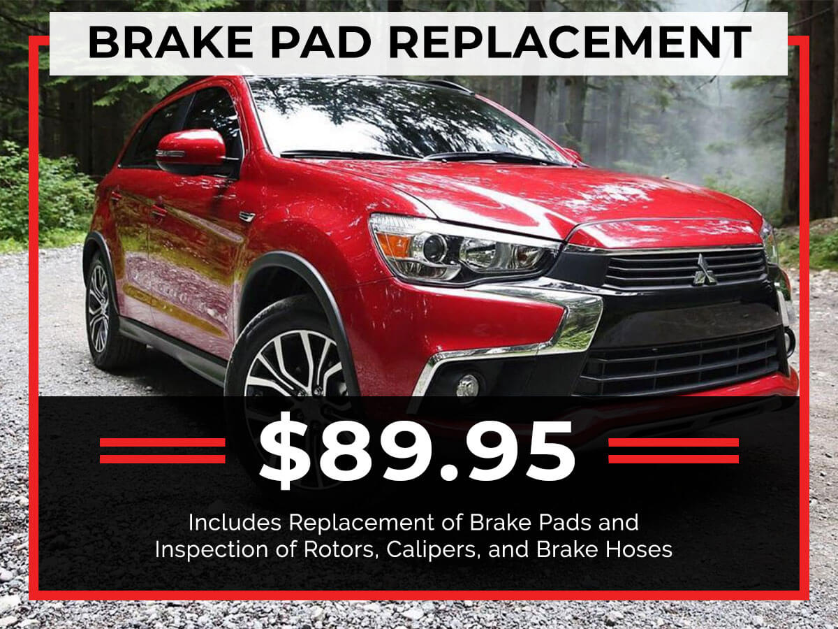 Brake Pad Replacement Service Specials Coupon