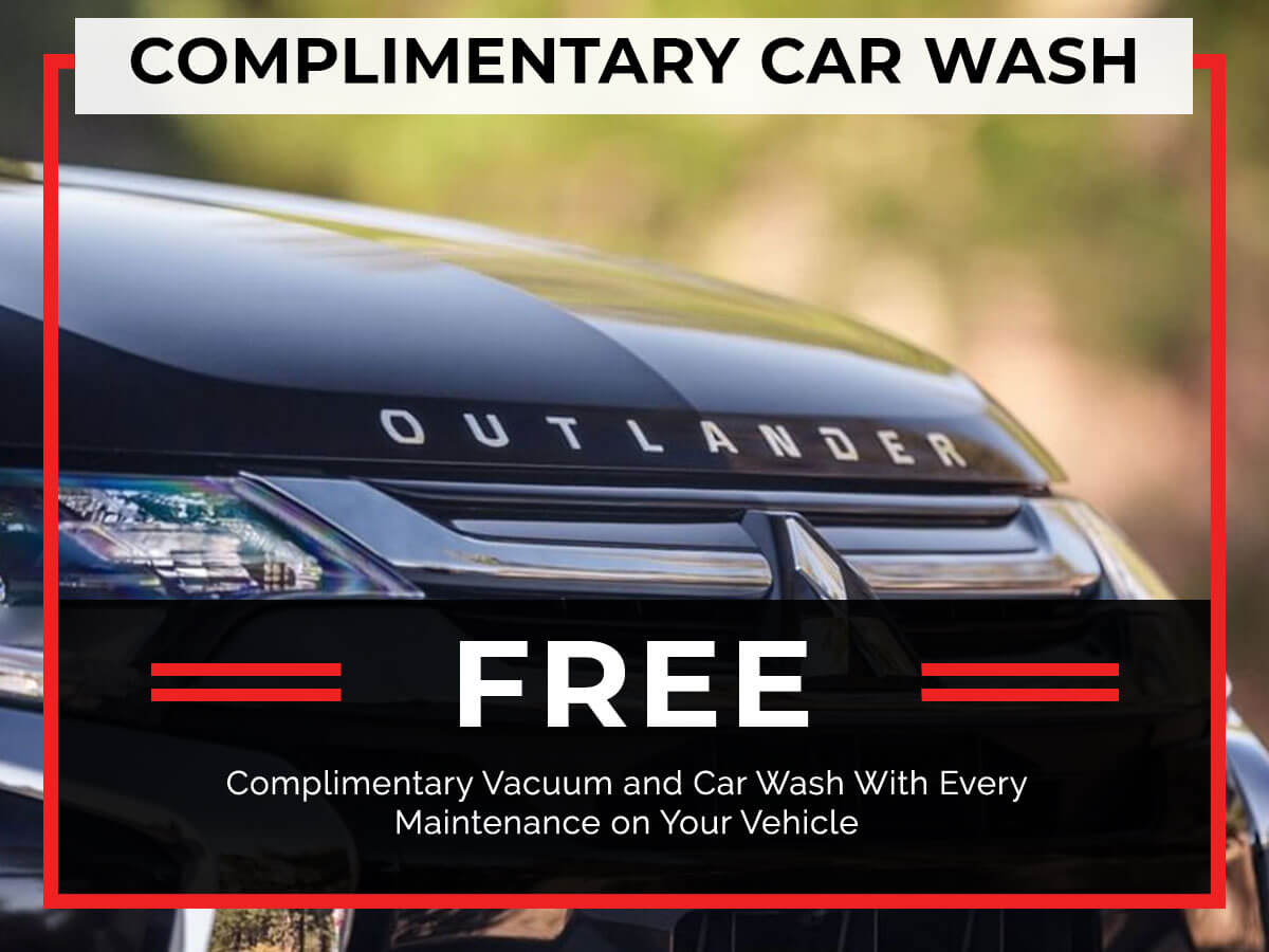 Car Wash Coupon from Brooklyn Mitsubishi
