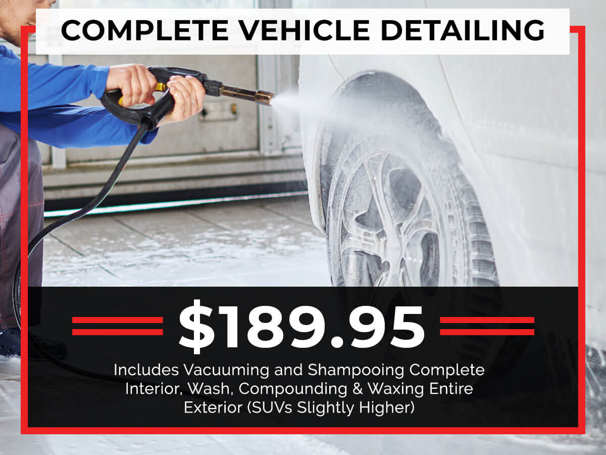Complete Detailing Service Specials Coupon