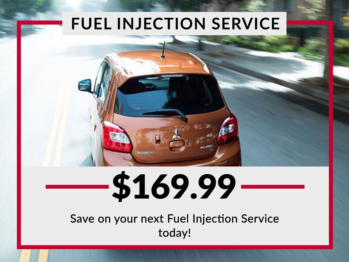 Carriage Mitsubishi Fuel Injection Service Coupon