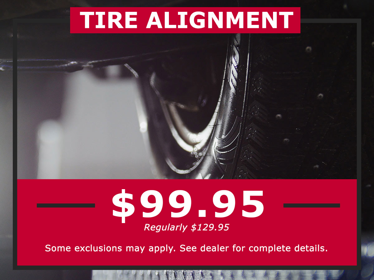 Tire Alignment Coupon from Lang Nissan Mission Bay
